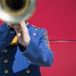 Musicien trompette